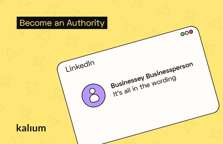 Set Up Your LinkedIn Profile for B2B Sales